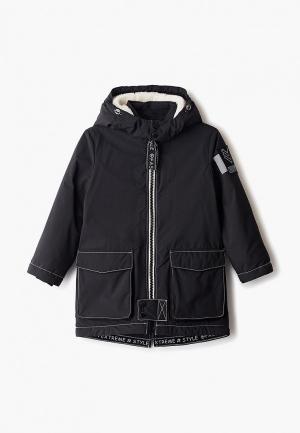 Куртка утепленная Choupette. Цвет: черный