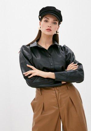 Рубашка Jacqueline de Yong. Цвет: черный
