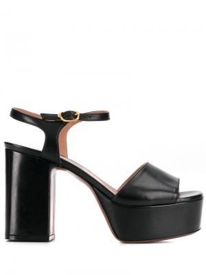 LAutre Chose босоножки на наборном каблуке и платформе L'Autre. Цвет: черный