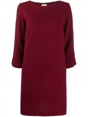 LAutre Chose платье-трапеция длины миди L'Autre. Цвет: красный