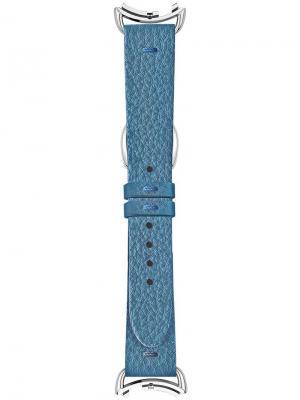 Съемный ремешок Selleria Fendi. Цвет: синий