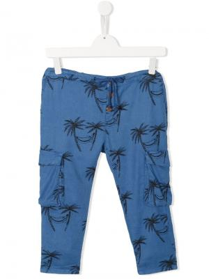 Palm tree trousers Bobo Choses. Цвет: синий