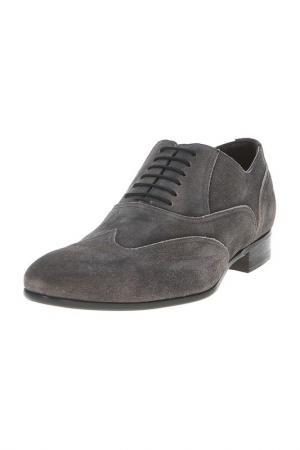 Туфли Canali. Цвет: серый