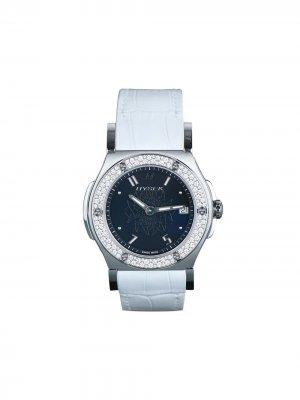 Наручные часы Abyss Quartz 38 мм Jorg Hysek. Цвет: черный