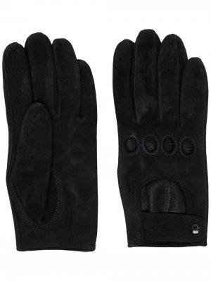Короткие перчатки Manokhi. Цвет: черный