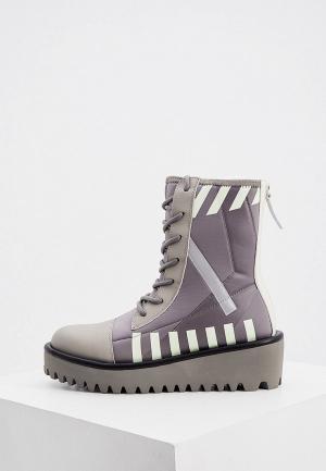 Ботинки United Nude. Цвет: серый