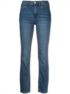 Прямые джинсы средней посадки 3x1. Цвет: синий