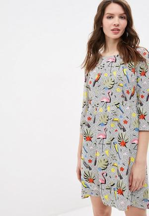 Платье Compania Fantastica. Цвет: белый