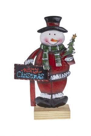 Снеговик DUE ESSE CHRISTMAS. Цвет: красный