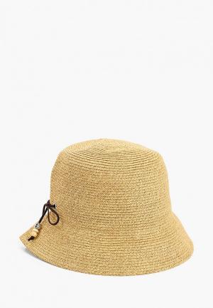 Шляпа Fabretti. Цвет: бежевый