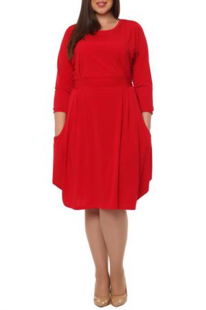 Платье Leshar. Цвет: красный