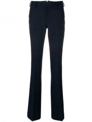 Расклешенные брюки строгого кроя Pt01. Цвет: синий