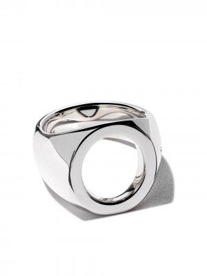 Oval open ring Tom Wood. Цвет: серебристый
