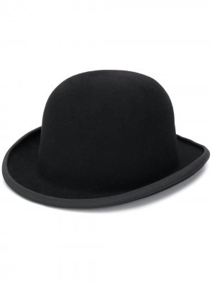 Шляпа-котелок AMI Paris. Цвет: черный