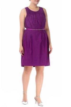 Платье Marella. Цвет: фиолетовый