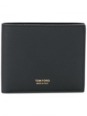 Классический бумажник Tom Ford. Цвет: черный