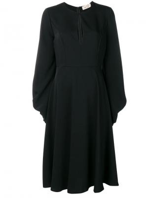 Keyhole dress Ki6. Цвет: черный