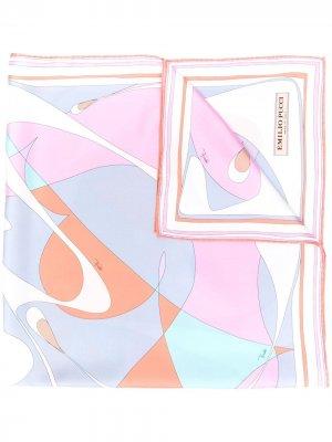 Платок Alex с принтом Emilio Pucci. Цвет: розовый
