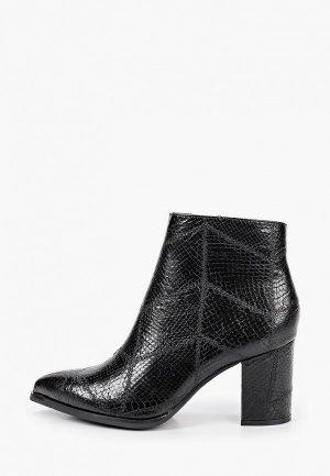 Ботильоны Ideal Shoes. Цвет: черный