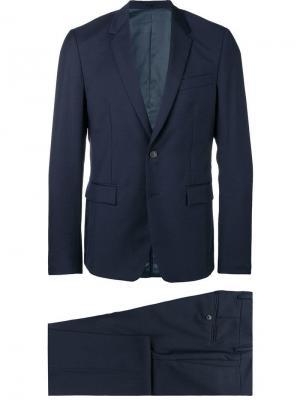 Классический костюм двойка Mauro Grifoni. Цвет: синий