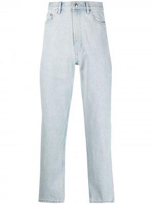 Широкие джинсы Martin A.P.C.. Цвет: синий