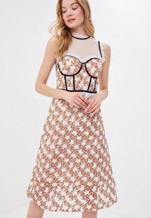 Платье True Decadence. Цвет: бежевый