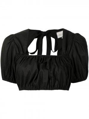 Укороченная блузка Tilly Alexis. Цвет: черный