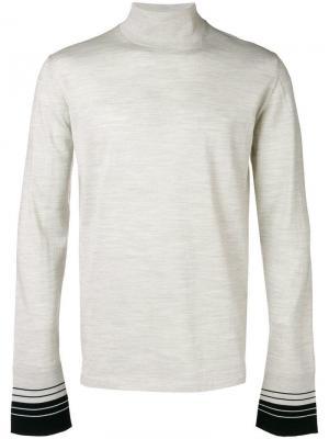 Roll neck sweater Lanvin. Цвет: белый