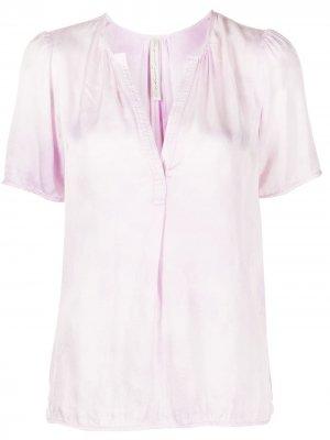 Блузка Lilakoi с короткими рукавами Raquel Allegra. Цвет: розовый