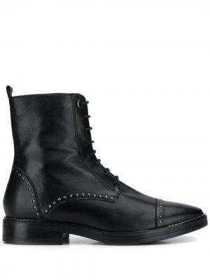 Ботильоны на шнуровке Tosca Blu. Цвет: черный