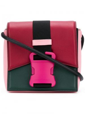 Colour block Bonnie shoulder bag Christopher Kane. Цвет: разноцветный