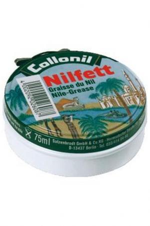Жир для кожи в твердой форме Collonil. Цвет: бесцветный