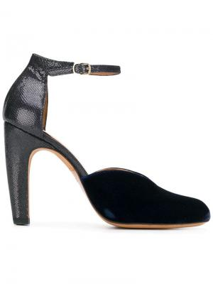 Туфли-лодочки Dari Chie Mihara. Цвет: синий