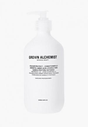 Кондиционер для волос Grown Alchemist. Цвет: прозрачный