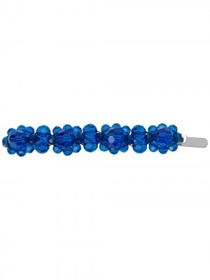 Декорированная заколка для волос Simone Rocha. Цвет: синий