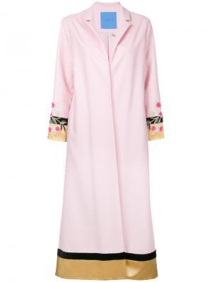 Пальто-халат Remedy Macgraw. Цвет: розовый