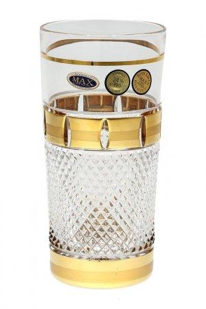 Набор стаканов, 6 шт MAX CRYSTAL. Цвет: прозрачный