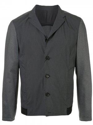Durban куртка-рубашка с контрастными вставками D'urban. Цвет: серый