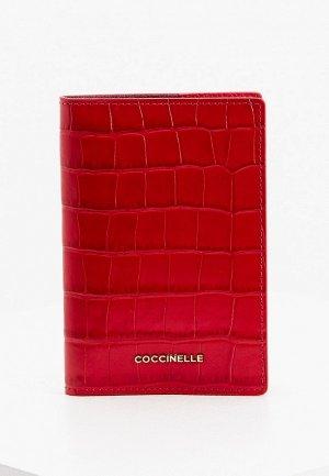 Обложка для документов Coccinelle. Цвет: красный