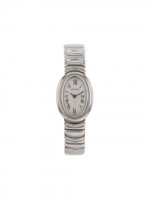Наручные часы Baignoire pre-owned 29 мм 1990-х годов Cartier. Цвет: серебристый