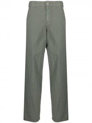 Укороченные брюки карго Emporio Armani. Цвет: зеленый