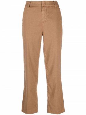 Укороченные брюки Meli Dondup. Цвет: коричневый