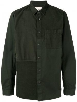 Patchwork shirt Folk. Цвет: зеленый