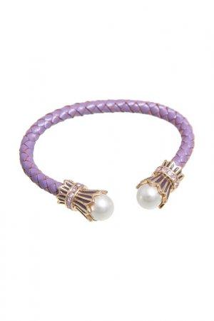 Браслет Asavi Jewel. Цвет: фиолетовый