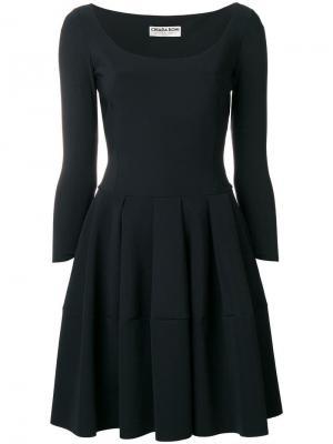 Расклешенное платье Le Petite Robe Di Chiara Boni. Цвет: черный