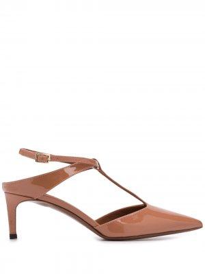 LAutre Chose лакированные туфли с Т-образным ремешком L'Autre. Цвет: нейтральные цвета