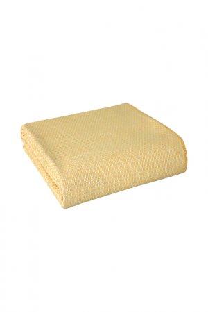 Плед Skoc 150X200 Reid Arya home collection. Цвет: желтый