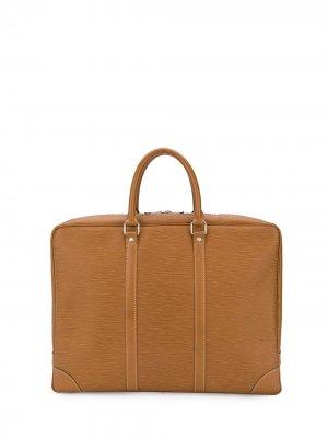 Сумка для ноутбука 2006-го года pre-owned Louis Vuitton. Цвет: коричневый