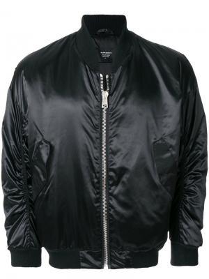 Классическая куртка-бомбер Represent. Цвет: черный