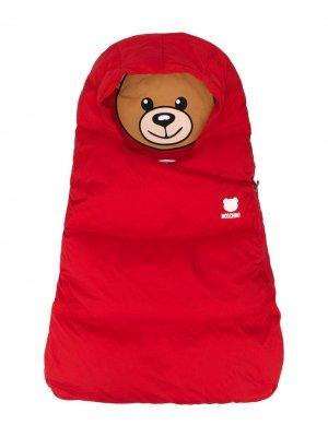Спальный мешок Teddy Bear Moschino Kids. Цвет: красный
